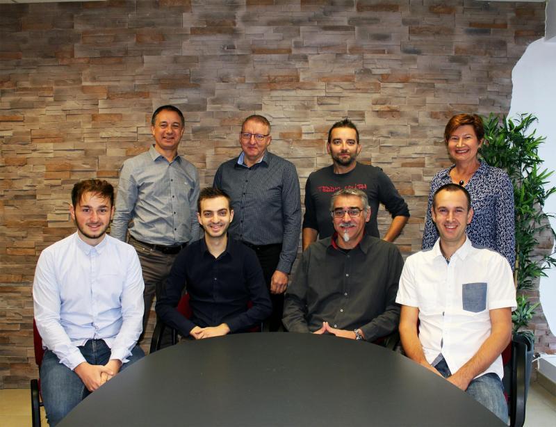 Marc COLIN et son équipe